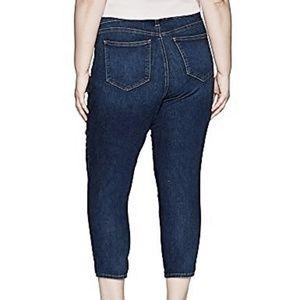 20W 22W NYDJ Alina Ankle tummy tuck slimming Jeans